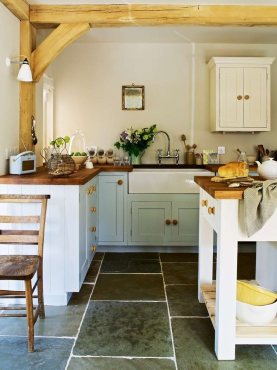 Best ideas about Small Farmhouse Kitchen Ideas . Save or Pin 35 Cozy And Chic Farmhouse Kitchen Décor Ideas DigsDigs Now.