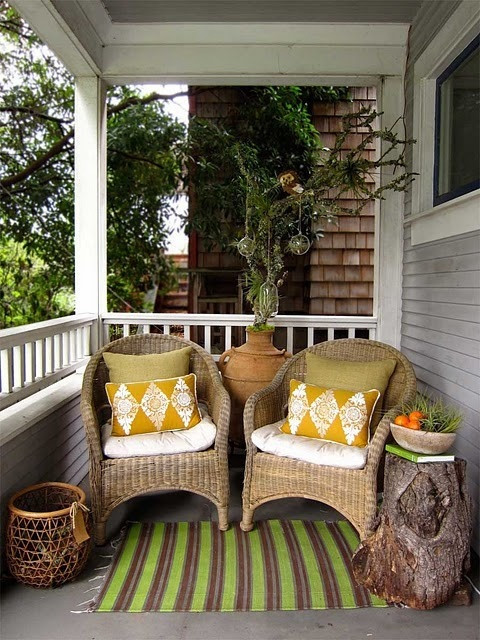 Best ideas about Small Front Porch Furniture Ideas . Save or Pin 39 Cool Small Front Porch Design Ideas DigsDigs Now.