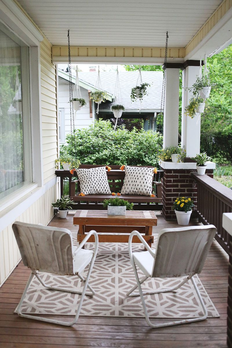 Best ideas about Small Front Porch Furniture Ideas . Save or Pin Makes a Big Front Porch Furniture Now.
