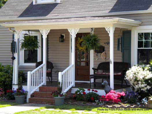 Best ideas about Small Front Porch Furniture Ideas . Save or Pin Front Porch Front Porch Ideas Now.