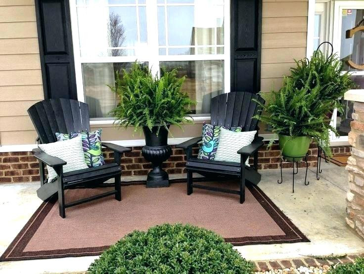 Best ideas about Small Front Porch Furniture Ideas . Save or Pin Small Porch Furniture Small Front Porch Chairs Small Porch Now.