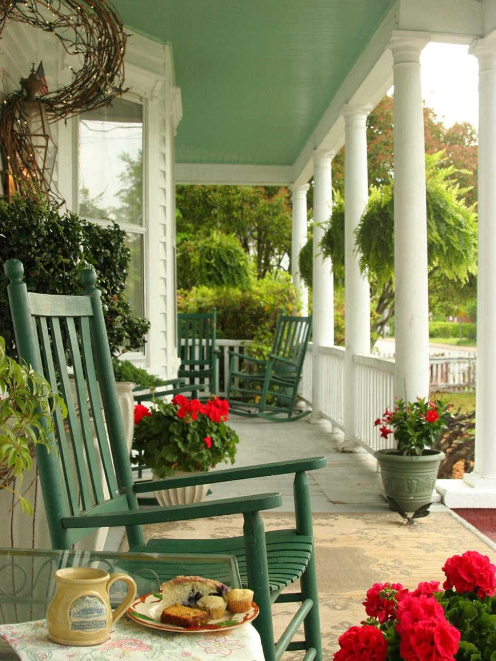 Best ideas about Small Front Porch Furniture Ideas . Save or Pin Narrow Front Porch Furniture Ideas Now.