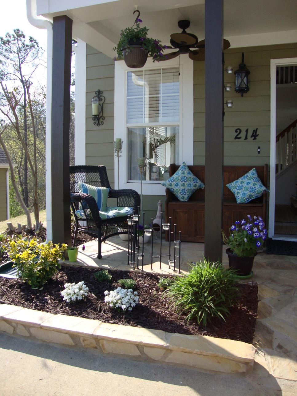 Best ideas about Small Front Porch Furniture Ideas . Save or Pin Summer Front Porch Furniture Ideas — Bistrodre Porch And Now.