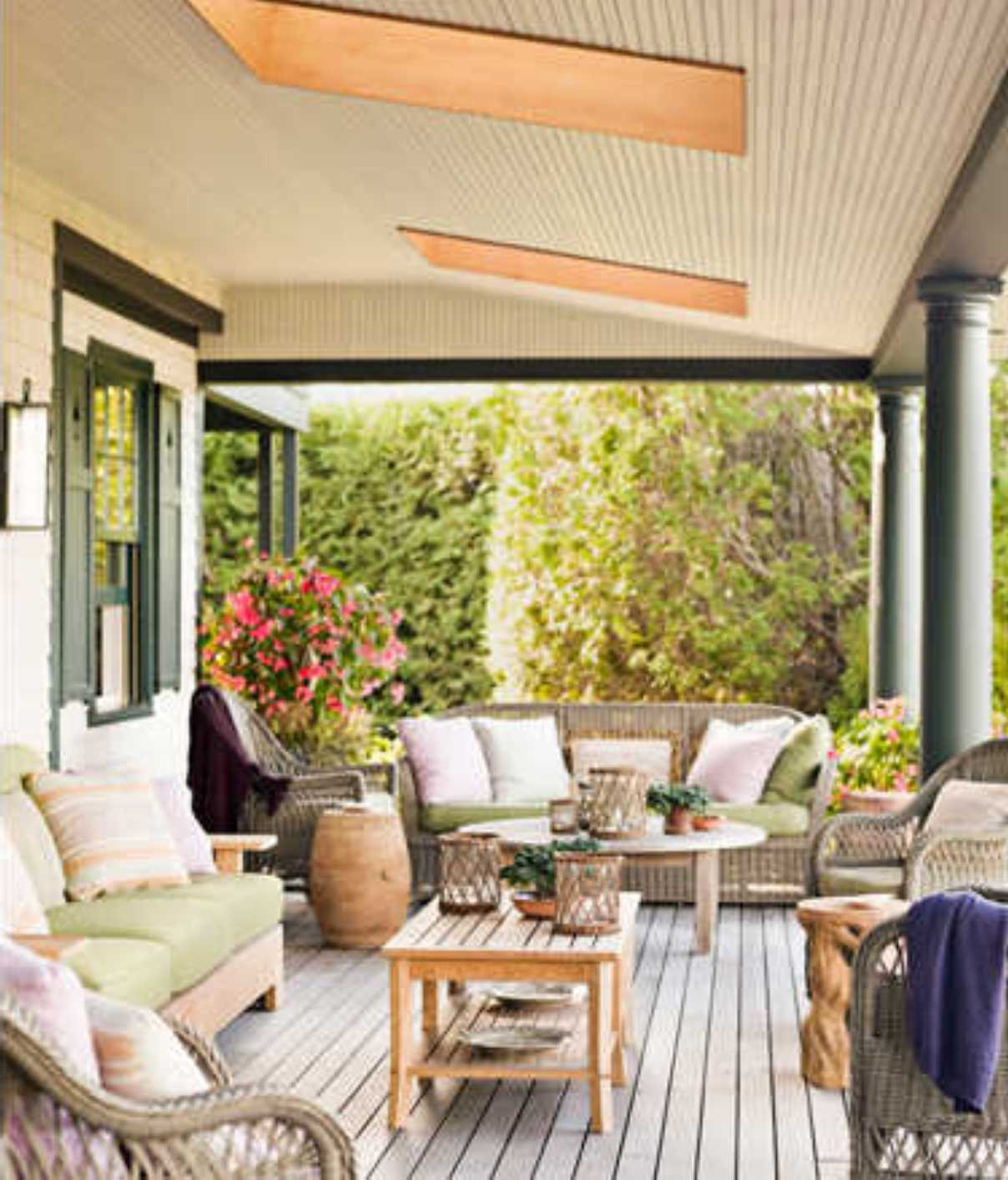 Best ideas about Small Front Porch Furniture Ideas . Save or Pin Decoration Ideas Exterior Front Porch Cheerful Front Now.