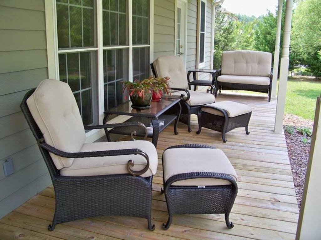 Best ideas about Small Front Porch Furniture Ideas . Save or Pin Front Porch Furniture Ideas Content — Bistrodre Porch And Now.