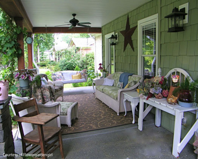 Best ideas about Small Front Porch Furniture Ideas . Save or Pin Front porch outdoor furniture rock front porch ideas Now.