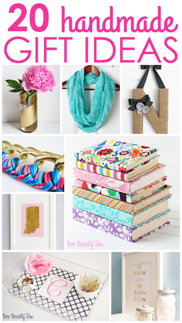 Small Gift Ideas For Girls  DIY Gifts And Wrap GREAT inexpensive handmade t ideas