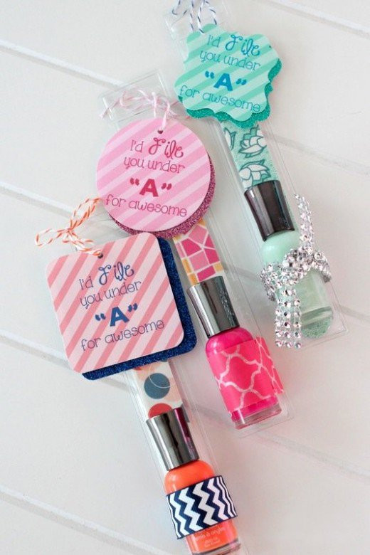 Small Gift Ideas For Girls  Fab Homemade Gifts for Teen Girls that Look Store Bought