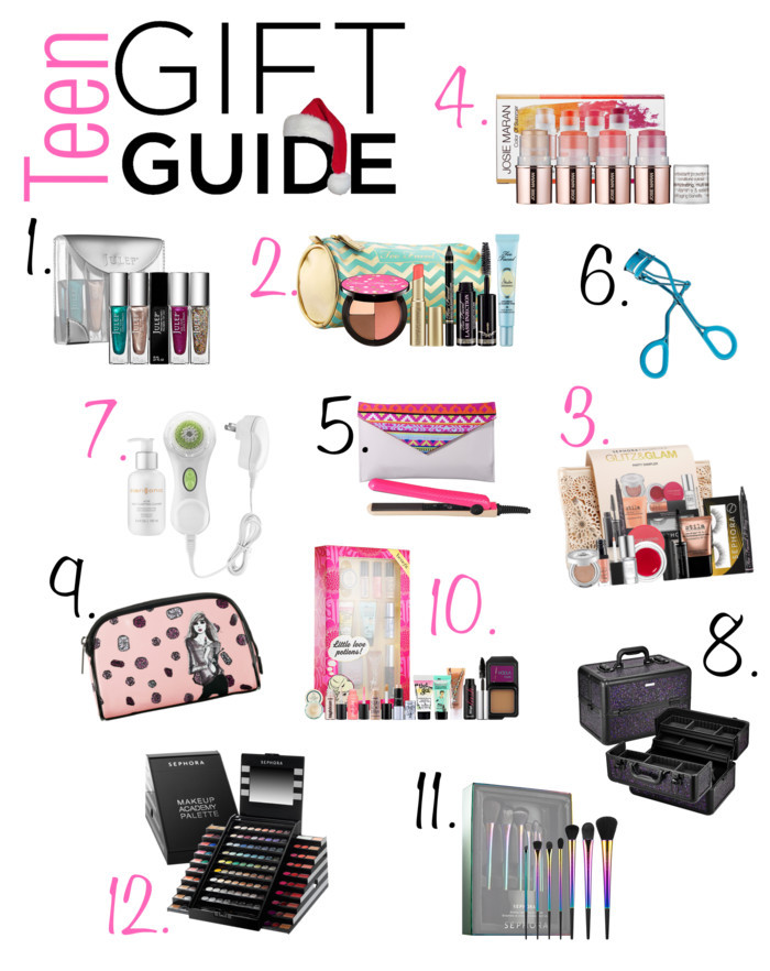 Small Gift Ideas For Girls  12 Teenage Girl Gifts for Christmas Beauty & Makeup Edition