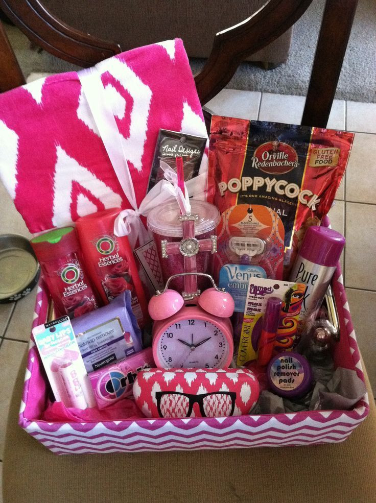 Small Gift Ideas For Girls  Happy Birthday Basket Ideas for Her