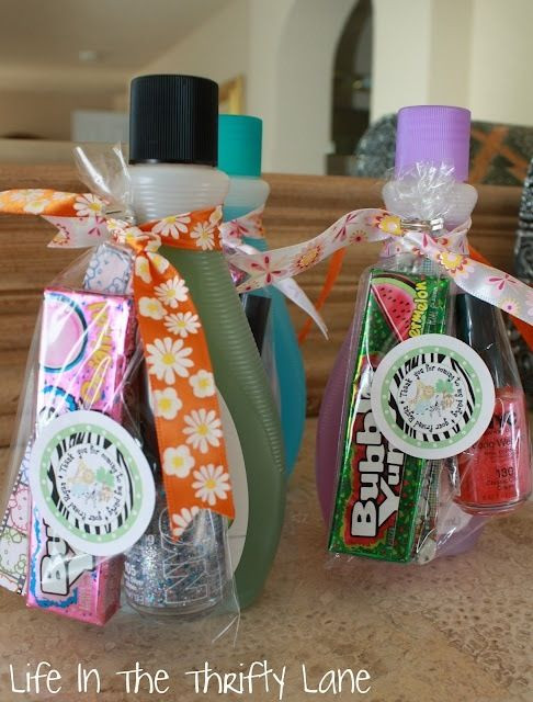 Small Gift Ideas For Girls  Would make cute secret sister t for girls camp