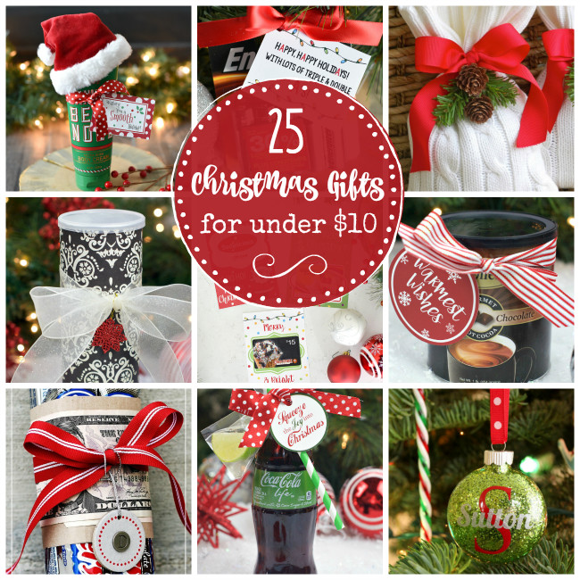 Best ideas about Small Holiday Gift Ideas . Save or Pin 25 Creative & Cheap Christmas Gifts that Cost Under $10 Now.