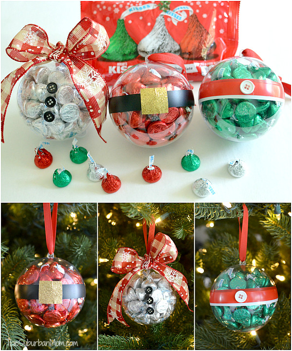 Best ideas about Small Holiday Gift Ideas . Save or Pin DIY Christmas Ornaments With Hershey s Kisses Now.