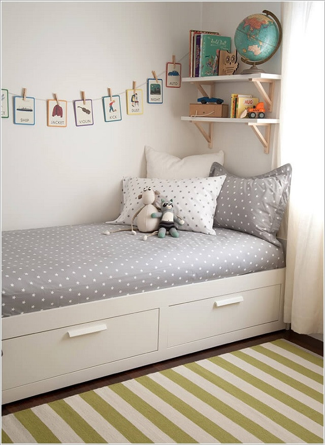 Best ideas about Small Kids Room . Save or Pin 18 Clever Kids Room Storage Ideas Now.