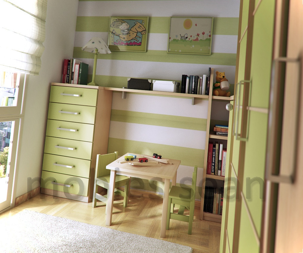 Best ideas about Small Kids Room . Save or Pin Space Saving Designs for Small Kids Rooms Now.