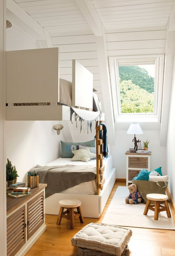 Best ideas about Small Kids Room . Save or Pin Children s Bedrooms in Small Spaces by Jen Stanbrook Now.