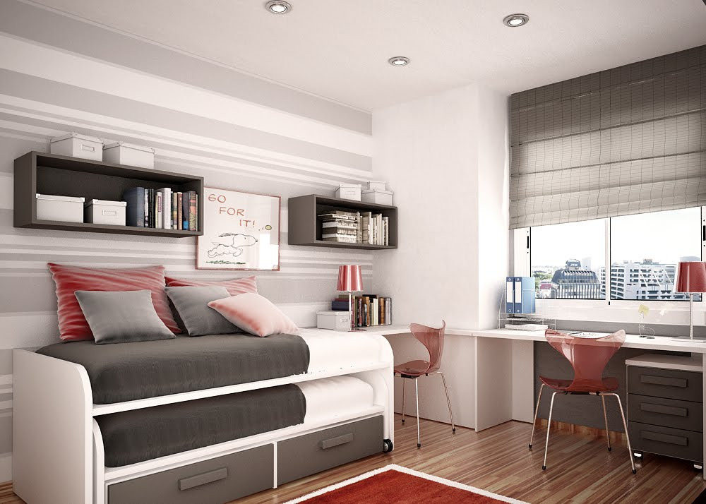 Best ideas about Small Kids Room . Save or Pin Space Saving Ideas for Small Kids Rooms Now.