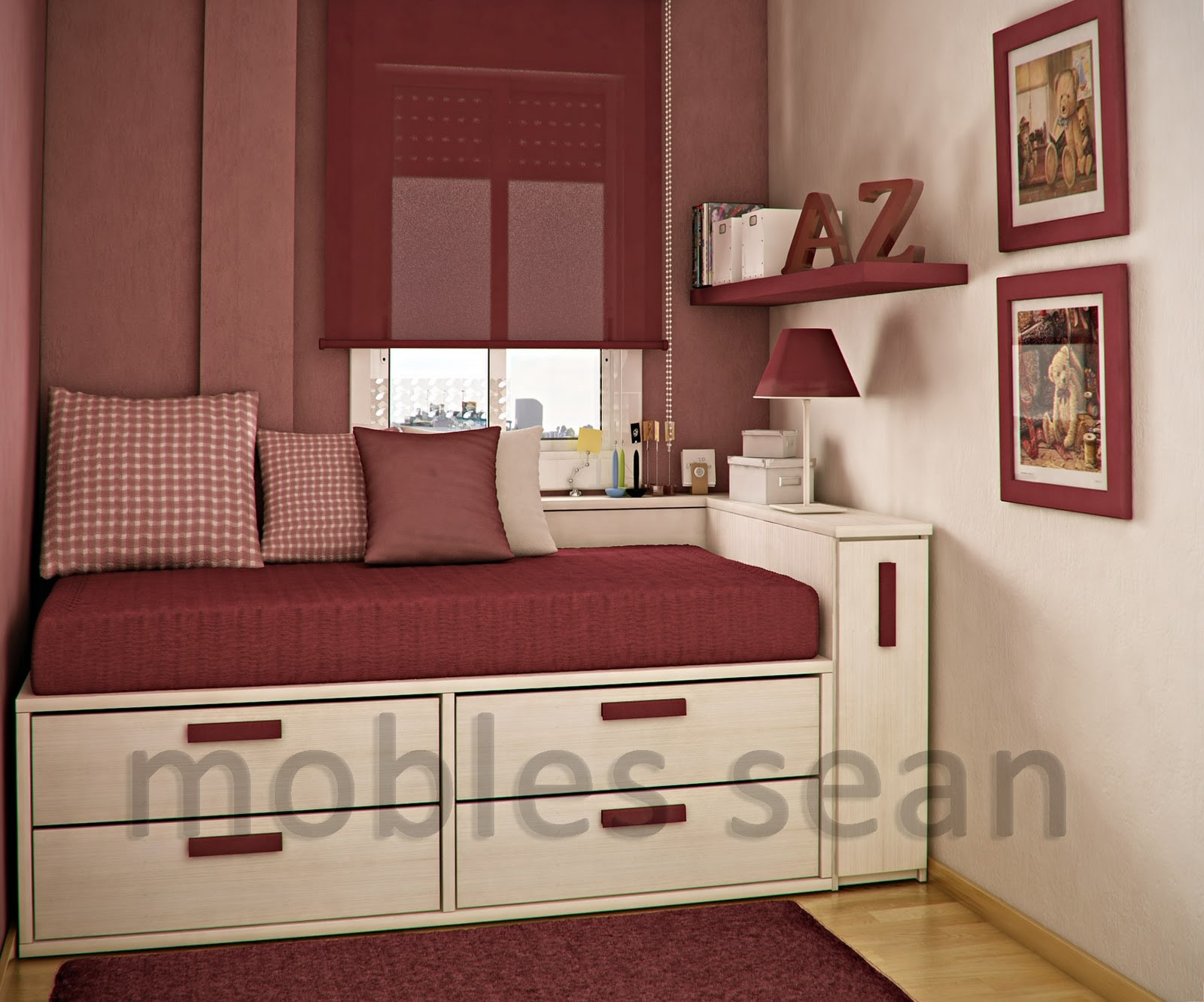 Best ideas about Small Kids Room . Save or Pin Space Saving Designs for Small Kids Rooms Futura Home Now.