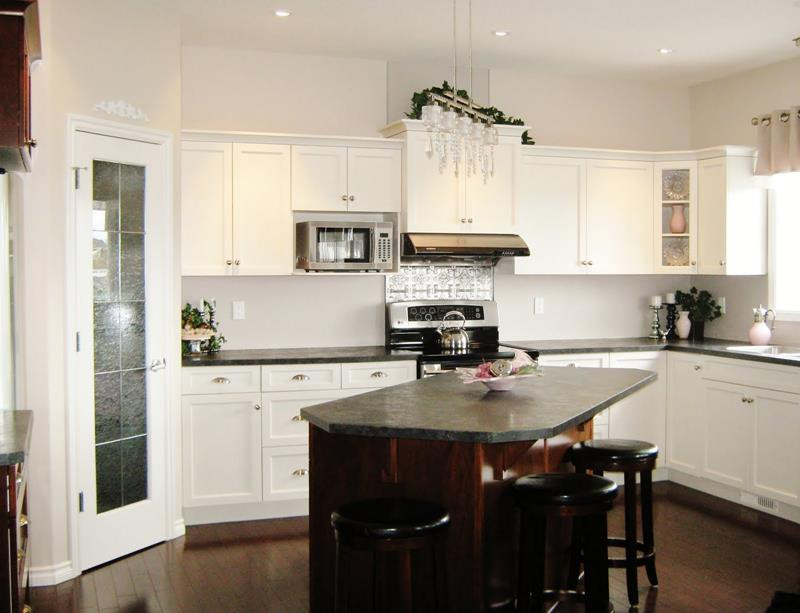Best ideas about Small Kitchen Ideas With Islands . Save or Pin 51 Awesome Small Kitchen With Island Designs Page 6 of 10 Now.