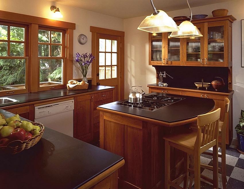 Best ideas about Small Kitchen Ideas With Islands . Save or Pin How To Decorate An Amazing Kitchen With Small Kitchen Now.