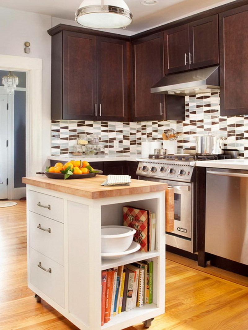 Best ideas about Small Kitchen Ideas With Islands . Save or Pin 10 Best Kitchen Island Ideas For Your Small Kitchen Now.