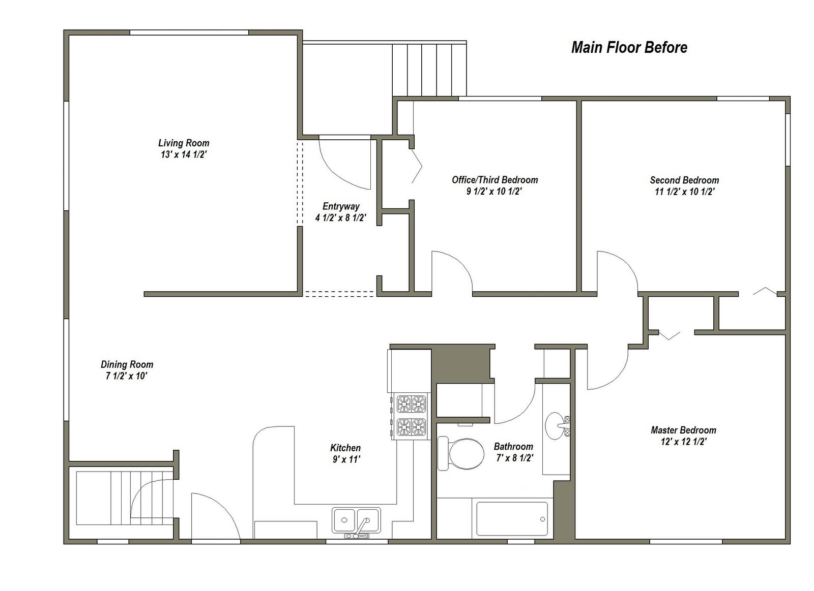 Best ideas about Small Office Floor Plan . Save or Pin Business Plan Small Building Plans mercial Floor Retail Now.