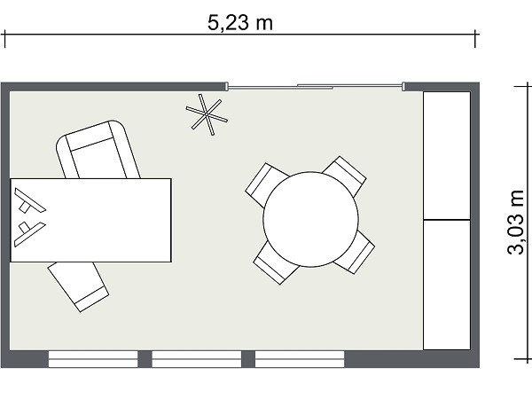 Best ideas about Small Office Floor Plan . Save or Pin fice Layout Now.