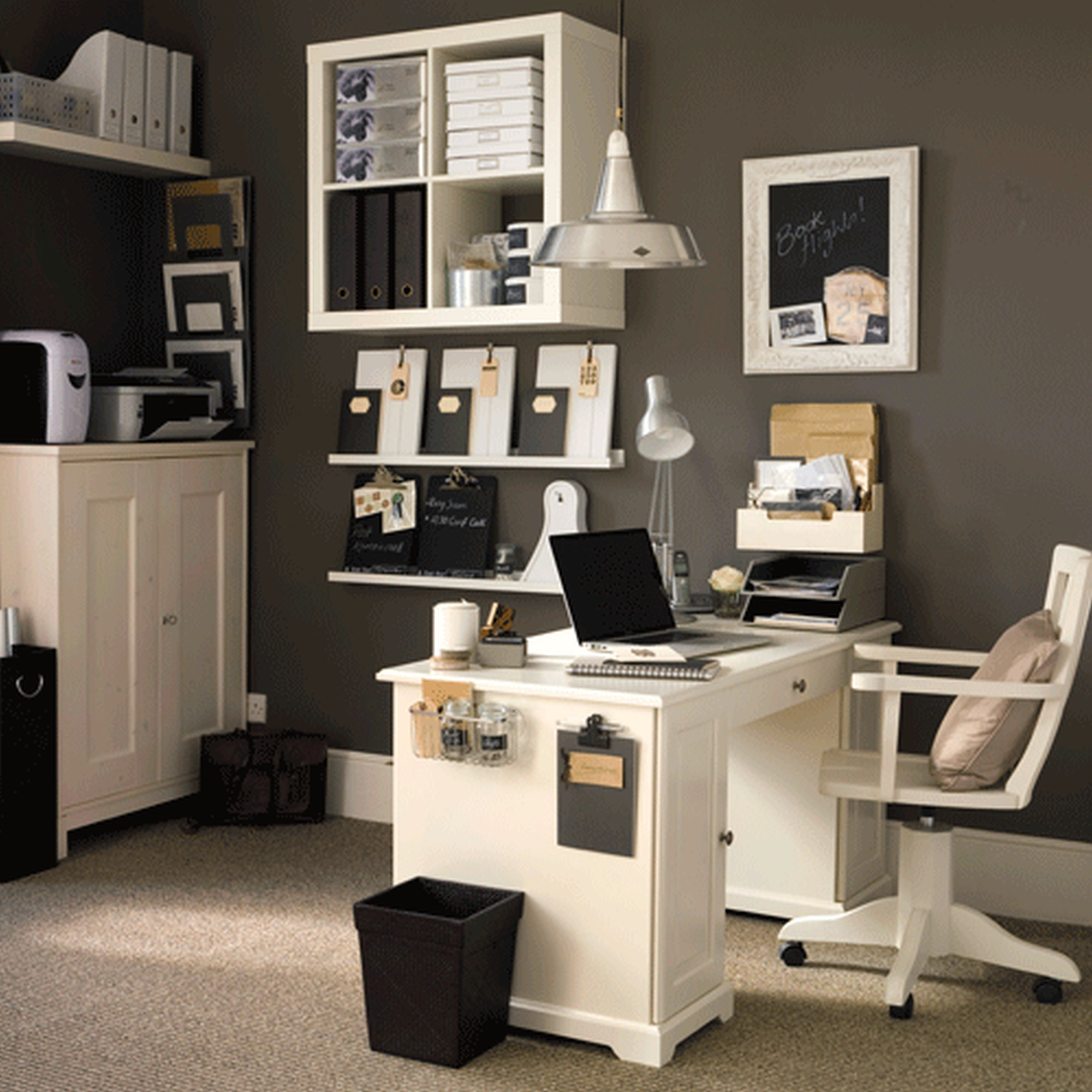 Best ideas about Small Office Furniture . Save or Pin Small Home fice Furniture Ideas Home Design Ideas Now.