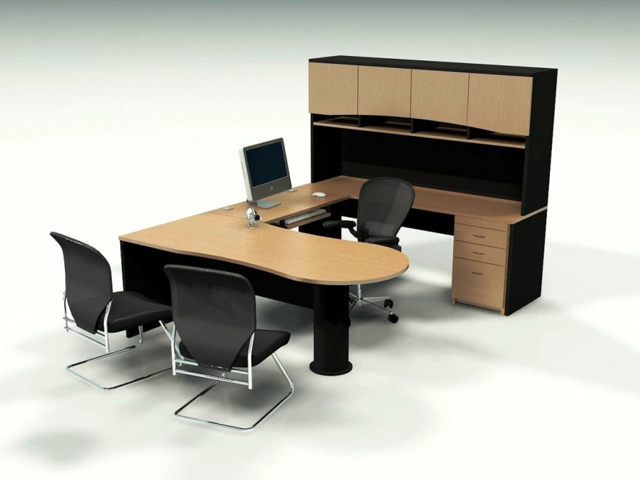 Best ideas about Small Office Furniture . Save or Pin Desks for small rooms office desks for small spaces Now.