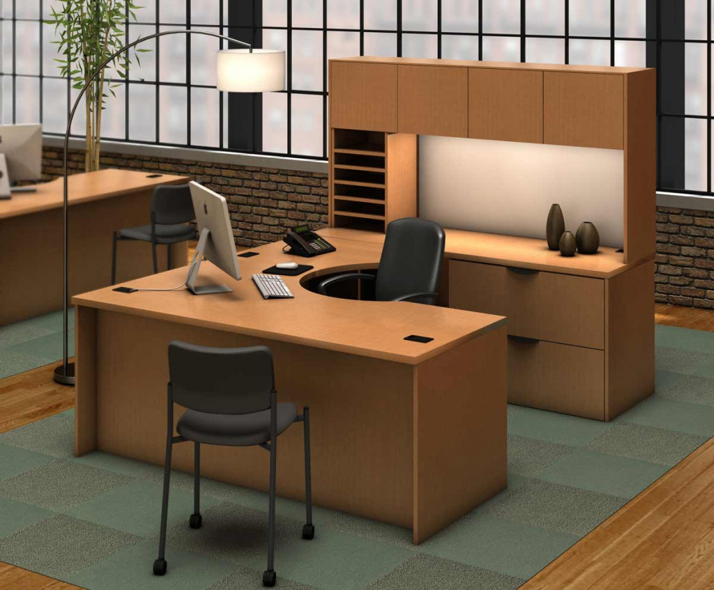 Best ideas about Small Office Furniture . Save or Pin Small puter Desk With Hutch Style Design Ideas And Now.