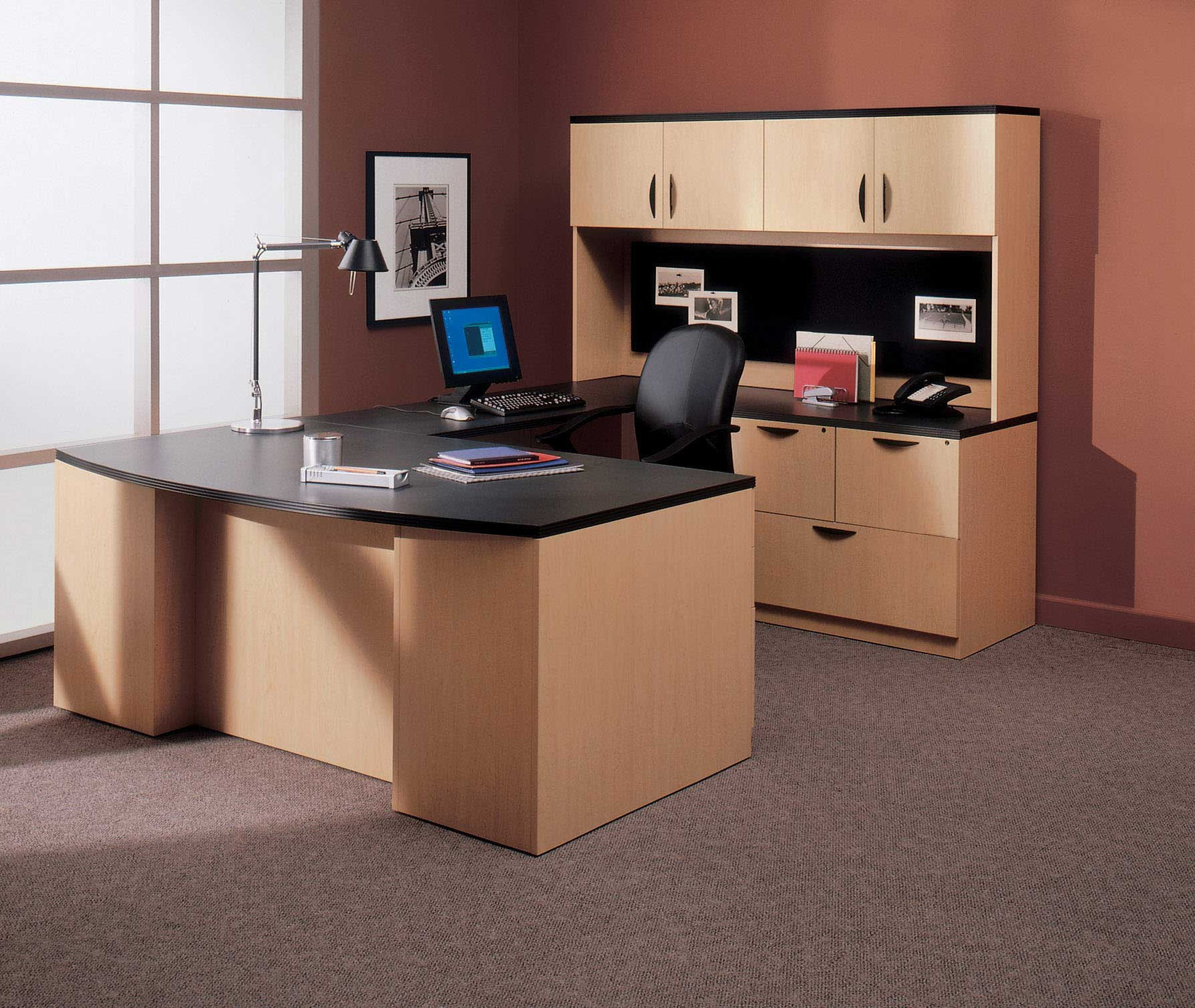 Best ideas about Small Office Furniture . Save or Pin fice Furniture Ideas for Professional Look Interior Now.