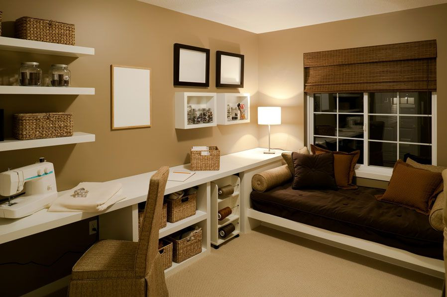 Best ideas about Small Office Guest Room Ideas . Save or Pin fice Guest Room Ideas Motivo Interiors Now.