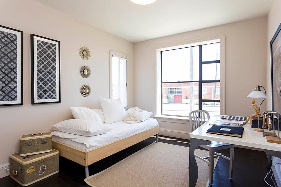 Best ideas about Small Office Guest Room Ideas . Save or Pin 25 Versatile Home fices That Double as Gorgeous Guest Rooms Now.