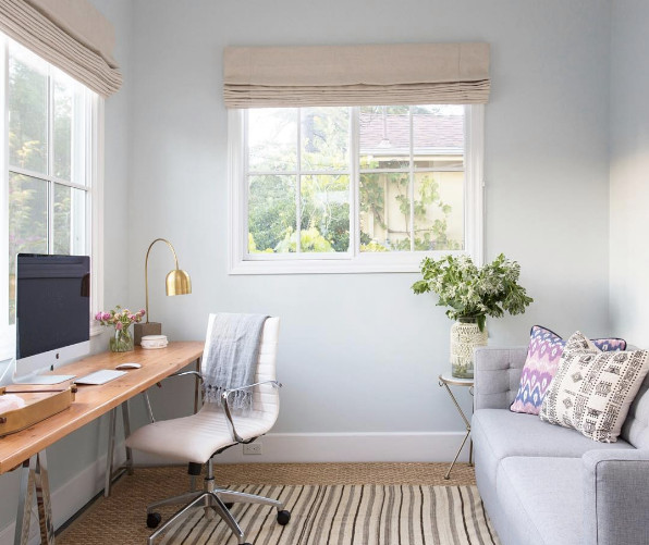 Best ideas about Small Office Guest Room Ideas . Save or Pin home office decorating ideas we spotted on instagram Now.