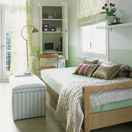 Best ideas about Small Office Guest Room Ideas . Save or Pin 22 Home fice Ideas for Small Spaces Work At Home Now.