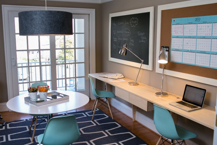 Best ideas about Small Office Space Design . Save or Pin 20 Home fice Designs Decorating Ideas For Small Spaces Now.