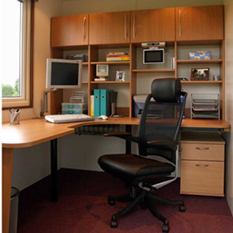 Best ideas about Small Office Space Design . Save or Pin Small Space Home fice Design Ideas Home Design line Now.