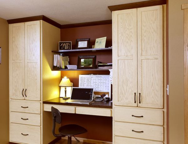 Best ideas about Small Office Space Ideas . Save or Pin 20 Home fice Design Ideas for Small Spaces Now.