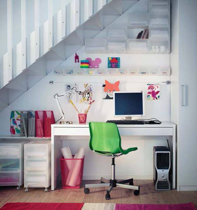 Best ideas about Small Office Space Ideas . Save or Pin Home fice Ideas for Small Spaces Now.