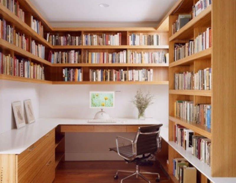 Best ideas about Small Office Space Ideas . Save or Pin 7 Ways to Make Your Small Home fice Big Now.