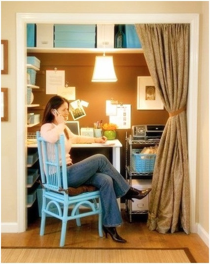 Best ideas about Small Office Space Ideas . Save or Pin Planning The Right Small Space Home fice Ideas Now.