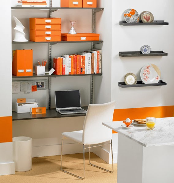 Best ideas about Small Office Space Ideas . Save or Pin Small fice Space Design Ideas Now.