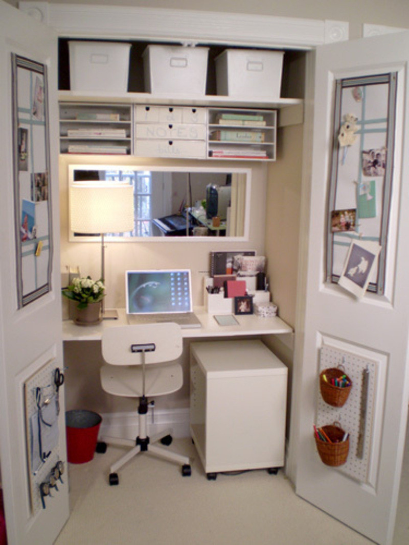 Best ideas about Small Office Space Ideas . Save or Pin Amazing of Top Small Space Home fice For Small fice D Now.