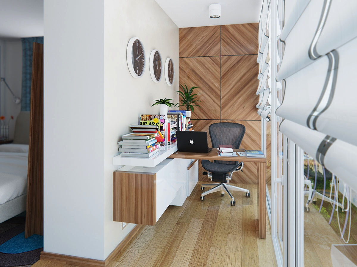 Best ideas about Small Office Space Ideas . Save or Pin Home fice Design Ideas for Small Spaces Now.