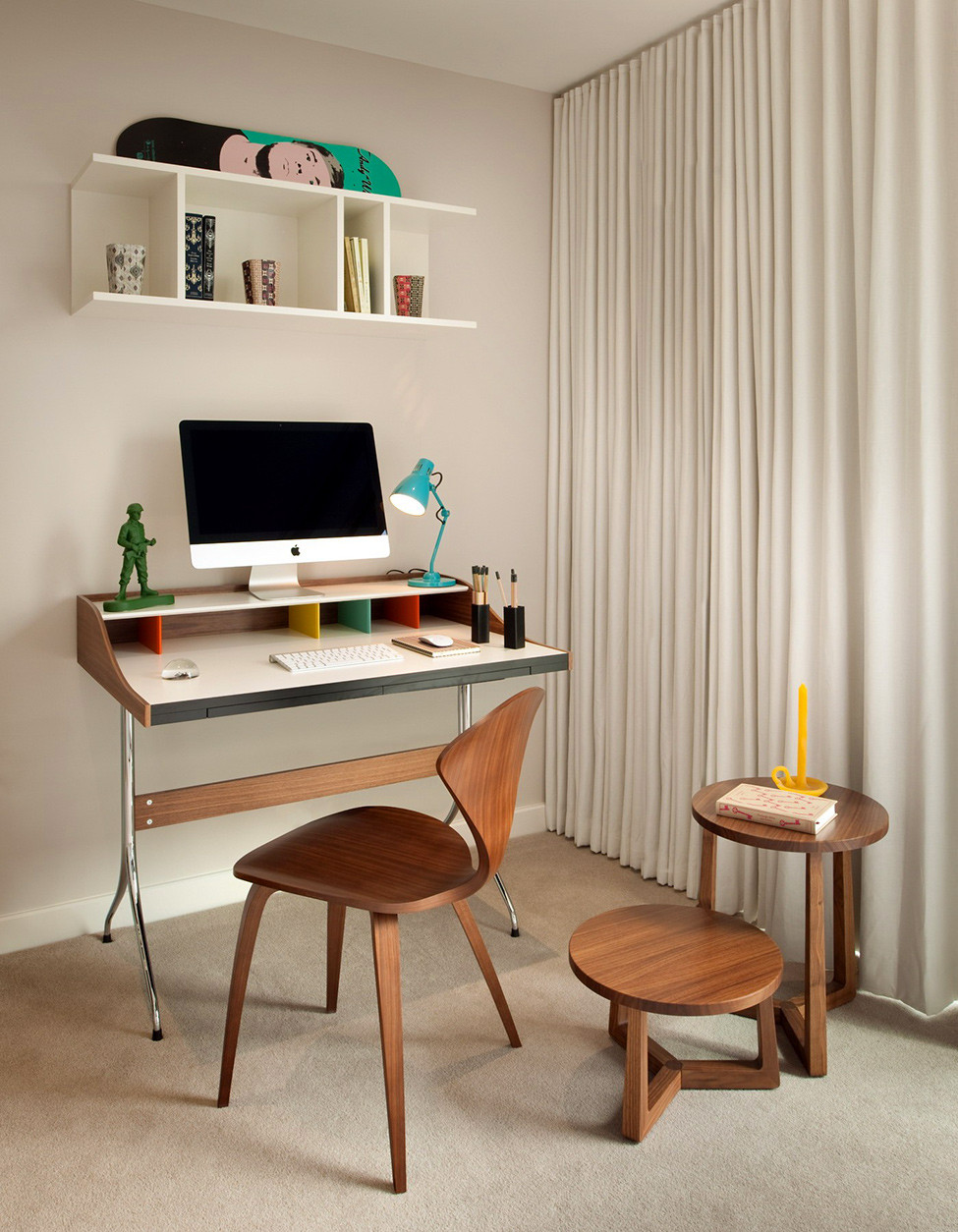 Best ideas about Small Office Table . Save or Pin Make The Small fice Desk as Superb as you Want MidCityEast Now.