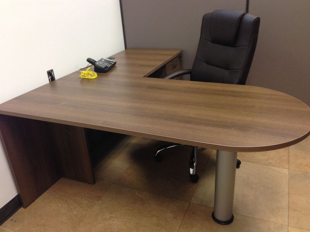 Best ideas about Small Office Table . Save or Pin Wood Small L Shaped Desk Small L Shaped Desk of Space Now.