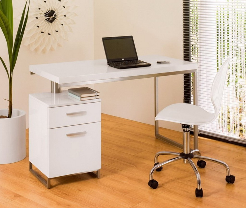 Best ideas about Small Office Table . Save or Pin Ideas on Dealing with the Right Small White Desk for your Now.