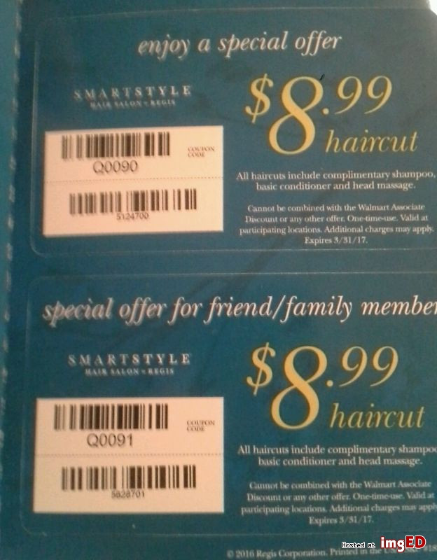 Smart Style Coupons For Haircuts  Smartstyle haircut coupon Image on imgED