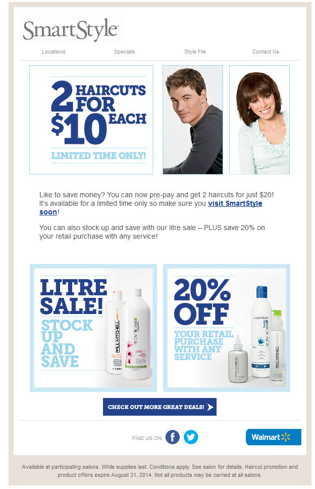 Smart Style Coupons For Haircuts  walmart smart style haircut coupons walmart smart style