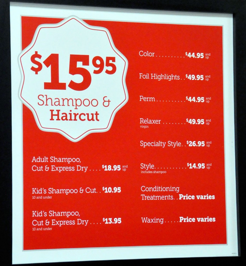 Smart Style Coupons For Haircuts  walmart hair salon all salon prices walmart hair salon all
